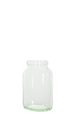 580 ml Ovalglas